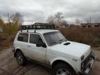 """Багажник на Нива ВАЗ-2121 """"ОХОТНИК"""" 3-хдверную"""