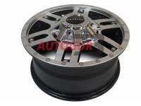 Диск колесный литой УАЗ R16х7 ET35 5x139,7 DIA 108.5 Patriot City-6 (черный матовый Flat) с колпаком